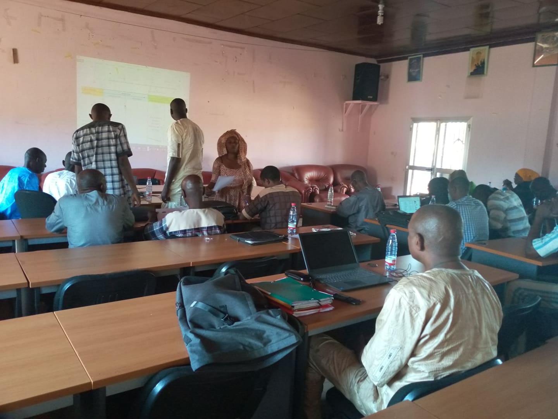Réunion du Conseil national des organisations de la société civile guinéenne (CNOSCG)