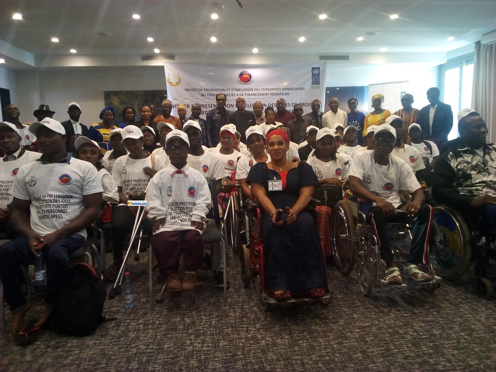 Renforcement de capacité des personnes handicapées