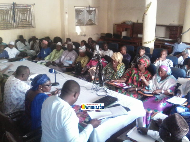 Tenue de la 3ème session ordinaire exercice 2019, de la commune de Ratoma