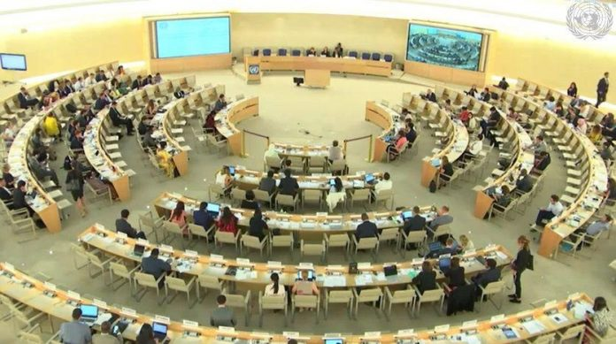 The 41th UNHRC in Geneca 2
