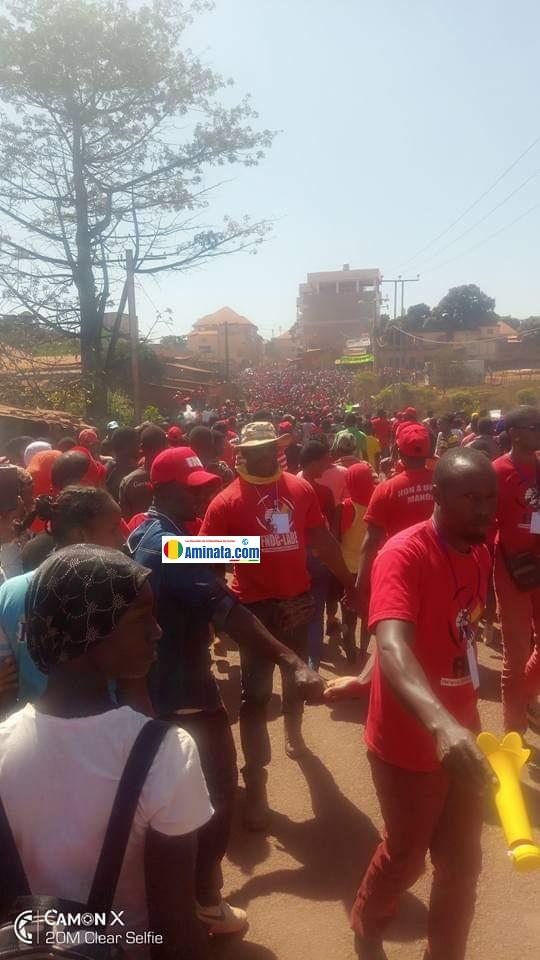 Une forte mobilisation du Front national pour la défense de la constitution (FNDC)