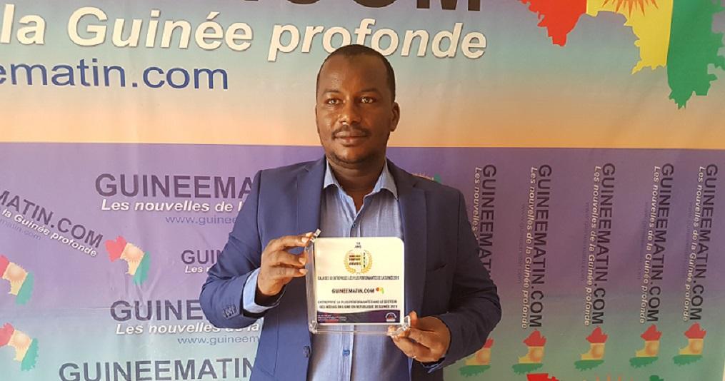 Nouhou Baldé, Fondateur et administrateur général de Guineematin