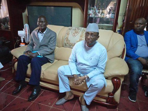 Sidya Touré, Président dee l'Union des forces républicaines (UFR)o