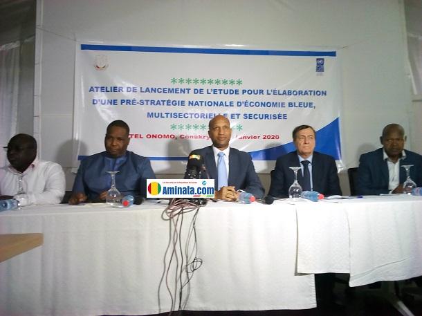 Atelier national de démarrage de l'étude pour l'élaboration d'une pré-stratégie nationale d'économie bleue, multisectorielle et sécurisée