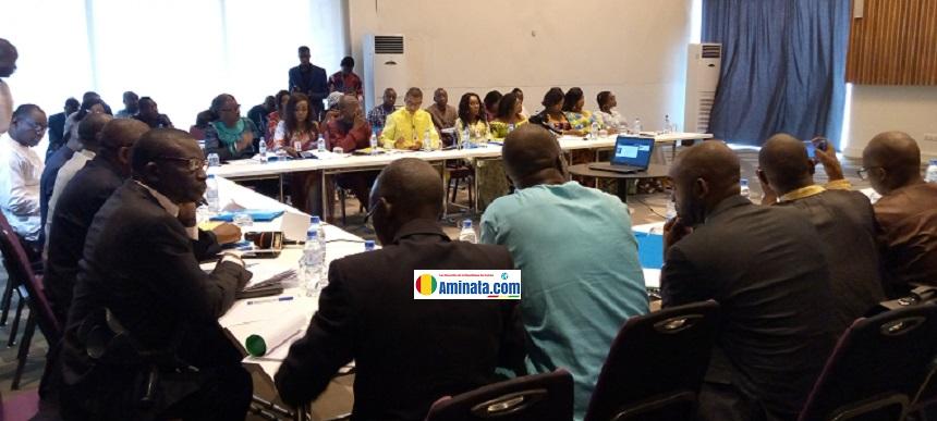 Des juges et des assistants du personnel de la Cour Constitutionnelle renforcent leurs capacités à Conakry