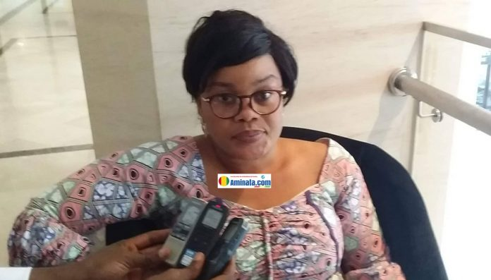 Fatoumata Lamarana Barry, présidente de l'ONG, l'Union des grands amis pour le développement et la non violence en Afrique