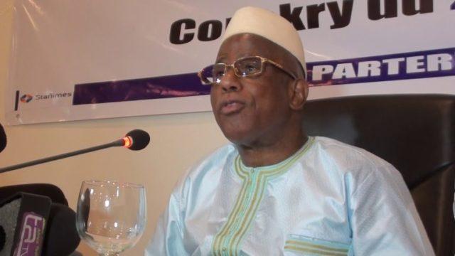 Mohamed Lamine Fofana, ministre de la justice