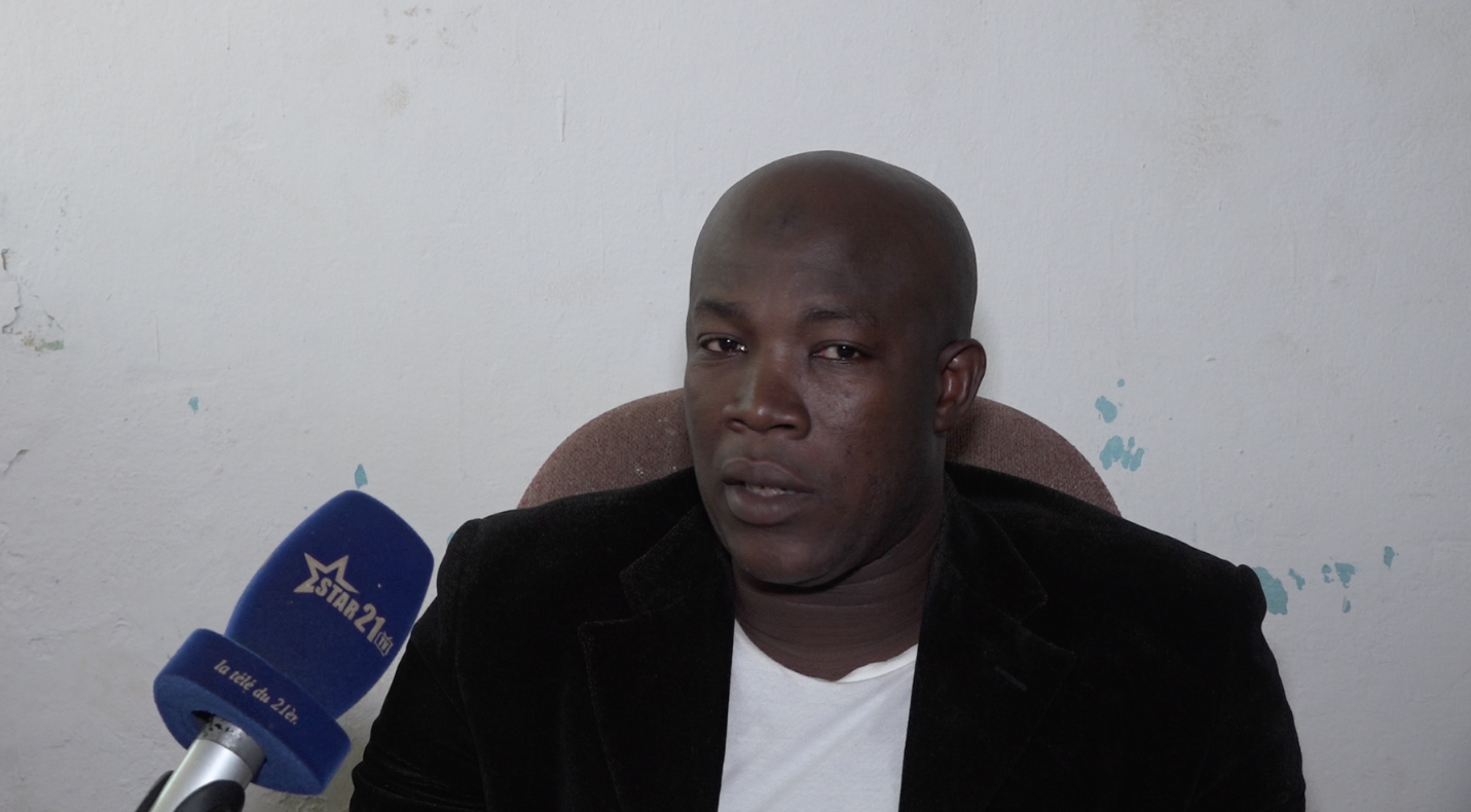 Saidou M'Baye, responsable d'une école privée de la place