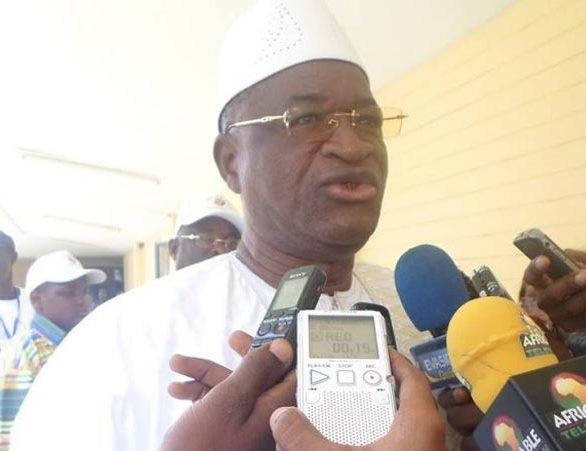 Elhadj Mamadou Sylla, Président de l'Union démocratique de Guinée (UDG)