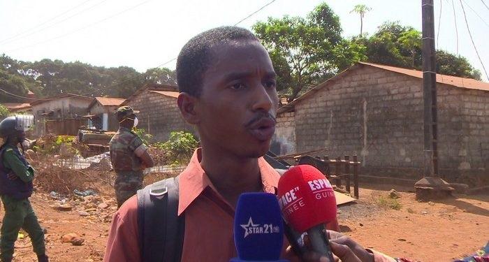 Le journaliste Mamadou Samba Sow