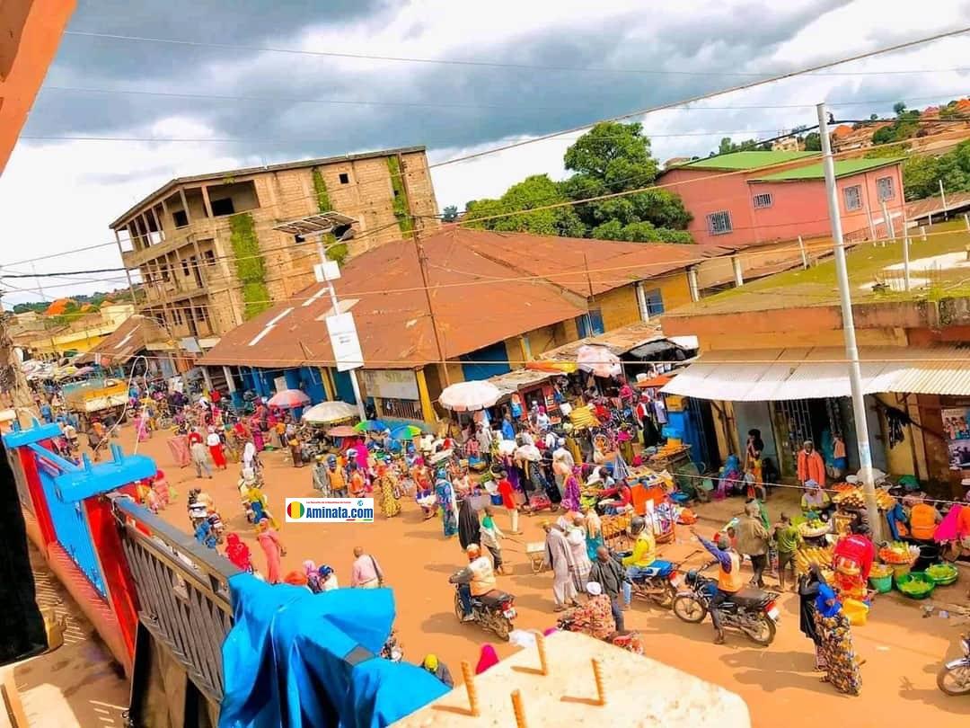 Le marché central de Labé