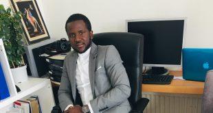 Alhassane Sow, président de l'Association de la diaspora de Koumbia