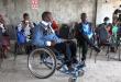 Photo d'un jeune handicapé
