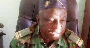 Lah Moussa Traoré, commandant de la gendarmerie départementale lieutenant-colonel
