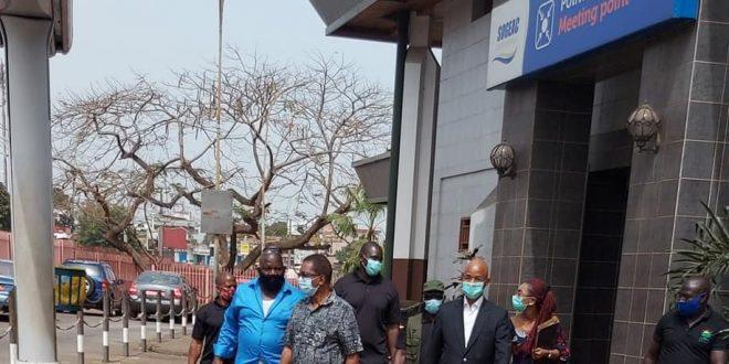 Cellou Dalein à l'Aeroport de Gbessia Conakry