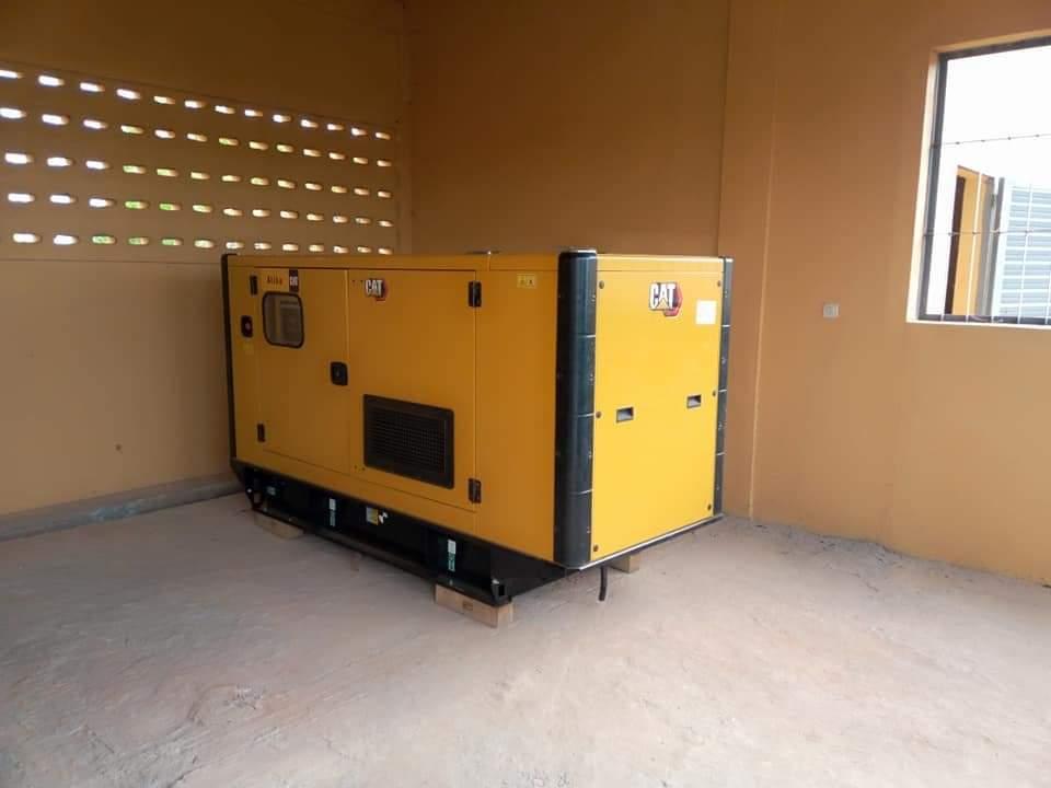 METFP- le Groupe électrogène de l'ERAM de LABE, installé et Fonctionnel.
