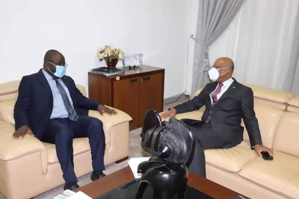 CEDEAO Le Président Jean Claude Kassi BROU est à Conakry.