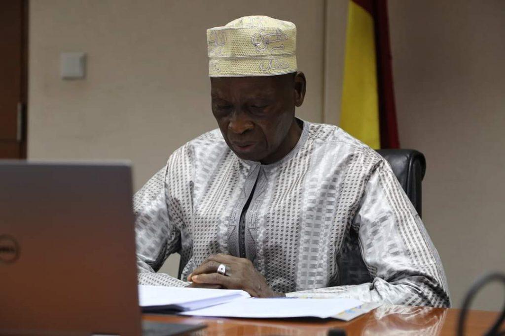 le Ministre de l'Economie et des Finances Mamadi Camara
