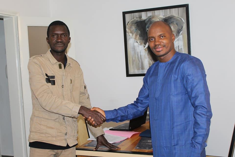 Sekou Koundouno et Ibrahima Diallo FNDC