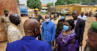 Dr Zalikatou Diallo a visité ce jeudi 24 juin certaines prisons de la région Kankan