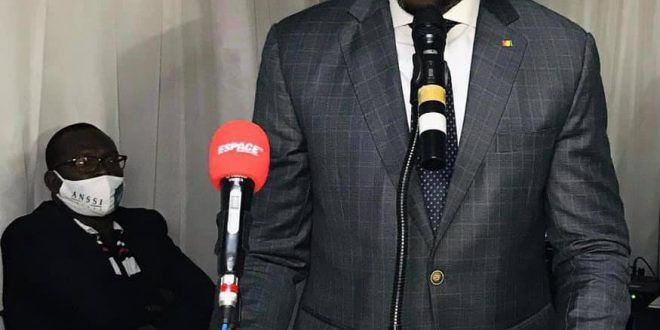 le Ministre Saïd Oumar Koulibaly