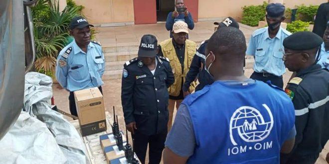 Kankan: démarrage des travaux d'installation des équipements de Radiocommunication destinés aux UPC