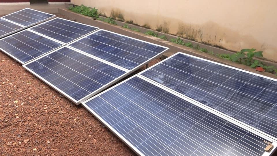 La préfecture de Koundara bénéficie aussi des kits d'éclairage solaire